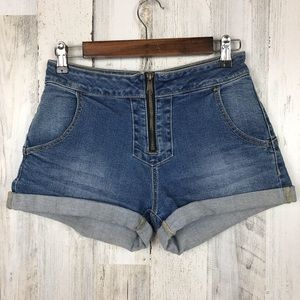 PacSun | High Rise Jean Shorts Size 26